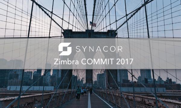 Zimbra COMMIT 2017