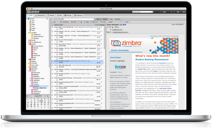 Zimbra Desktop 7 3 0 is Now Available - Based on Nw js with Support