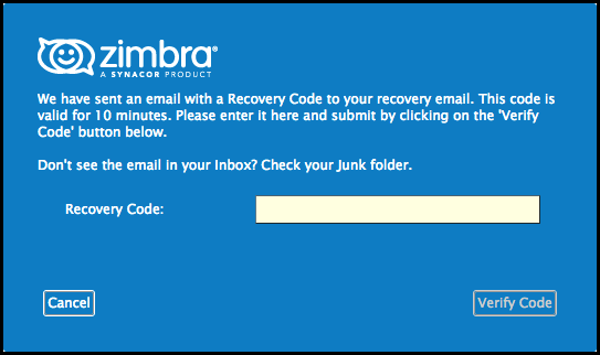 Did You Know? Password Reset in Zimbra 8 8 9 - Zimbra : Blog